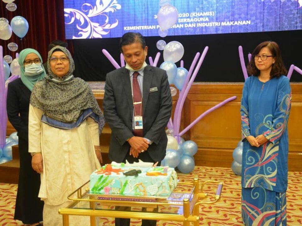 Majlis Sanjungan Budi Lambaian Kasih Ketua Pengarah Perikanan Malaysia, Dato Haji Munir B Haji Mohd Nawi.