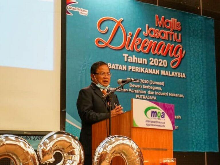 Majlis Jasamu Dikenang Jabatan Perikanan Malaysia 2020.