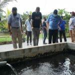 Ketua Pengarah Jabatan Perikanan Malaysia, YBhg. Encik Ahmad Tarmidzi B Ramly A.M.K. telah melakukan lawatan kerja ke Far East Planet Agrofarm di Mersing