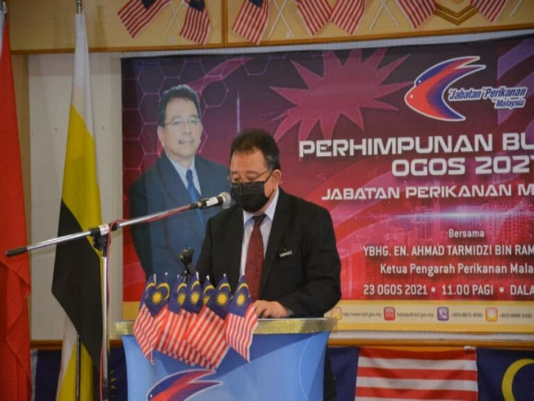 Perhimpunan Bulanan Edisi Hibrid Bil.2/2021 Jabatan Perikanan Malaysia (DOF).