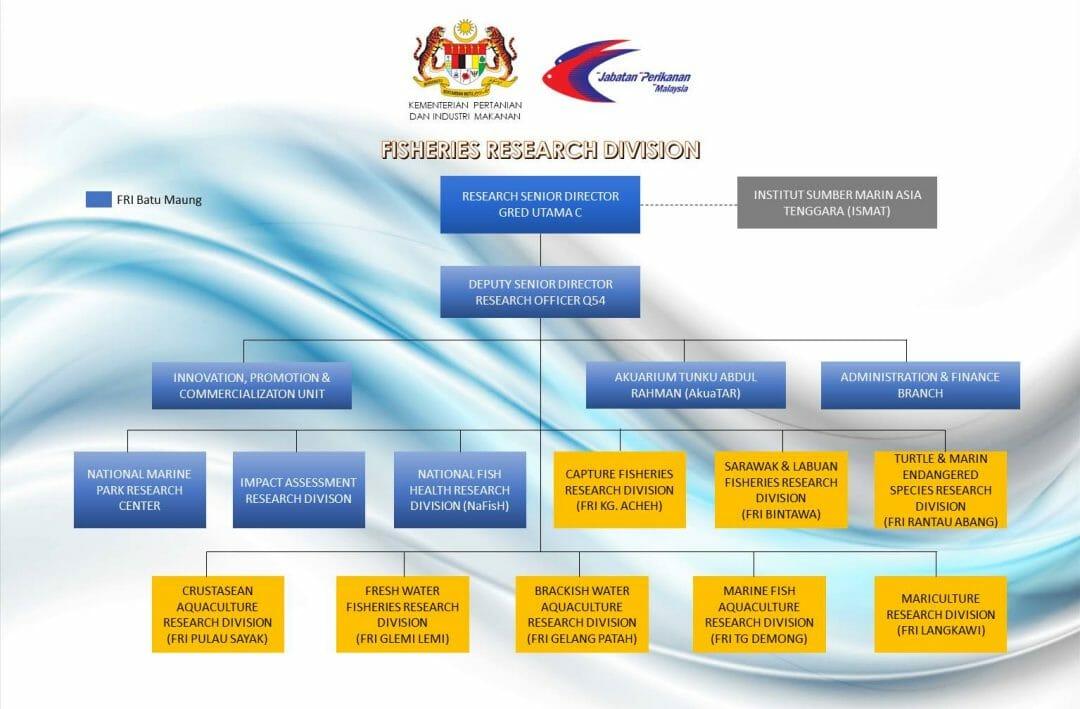 FRI Organisation Chart