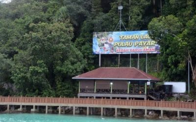 Working Visit of the Deputy Secretary General (Development) of the Ministry of Agriculture and Food Industry (MAFI) to Pulau Payar Marine Park Center, Langkawi.