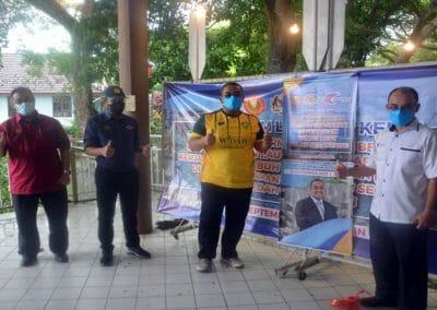 Lawatan Kerja YAB Hj Muhammad Sanusi Md Nor, Menteri Besar Kedah, Melabuh Tukun Tiruan Perairan Pulau Segantang, Kedah.