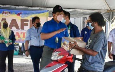 Lawatan Kerja Rasmi Timbalan Ketua Setiausaha Pembangunan (MAFI) Sempena Program MAFI Prihatin dan ke Santuari Ikan Air Tawar, Timah Tasoh di Beseri, Perlis.