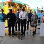 Lawatan Ketua Pengarah Perikanan Malaysia Ke Hutan Melintang, Perak.