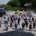 Penyerahan Input Dana Jaminan Makanan (DJM) kepada Penternak Kuala Terengganu, Kuala Nerus dan Hulu Terengganu oleh Ketua Pengarah Perikanan Malaysia, Tuan Ahmad Tarmidzi bin Ramly AMK di Pejabat Perikanan Negeri Terengganu, Chendering.