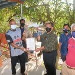 Lawatan Kerja Ketua Pengarah Perikanan Malaysia, Tuan Ahmad Tarmidzi bin Ramly AMK ke Kluster SME Ternakan Ikan Dalam Sangkar Paya Pagar, Bera, Pahang.