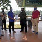 Lawatan Kerja Ketua Pengarah Perikanan Malaysia, Tuan Ahmad Tarmidzi bin Ramly AMK ke Kluster SME Ternakan Ikan Dalam Sangkar Pangsenam, Temerloh, Pahang.