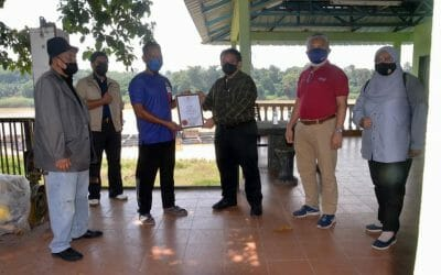 Working Visit of the Director General of Fisheries Malaysia, Tuan Ahmad Tarmidzi bin Ramly AMK to the SME Cluster of Fish Breeding in Exercise Cages, Temerloh, Pahang.
