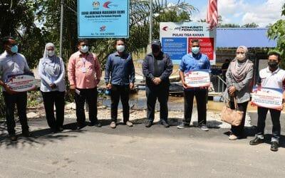 Working Visit of the Director General of Fisheries Malaysia to Company Bionestro SDN BHD, Teluk Senangin, Perak.