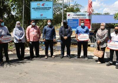 Lawatan Ketua Pengarah Perikanan Malaysia Ke Syarikat Bionestro SDN BHD, Teluk Senangin, Perak.