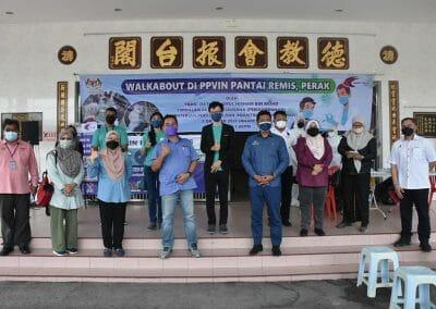 Lawatan Kerja Timbalan Ketua Setiausaha (Pembangunan) Datuk Badrul Hisham Mohd, Kementerian Pertanian dan Industri Makanan (MAFI) ke PPVIN Pantai Remis, Perak.