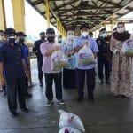 Lawatan Timbalan Menteri Pertanian dan Industri Makanan I, YB. Datuk Seri Haji Ahmad bin Hamzah ke daerah Kota Tinggi, Johor.
