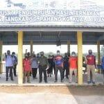 Lawatan Kerja Ketua Pengarah Perikanan Malaysia, Tuan Ahmad Tarmidzi bin Ramly AMK ke Kluster SME Ternakan Ikan Dalam Sangkar Kuala Triang, Bera, Pahang.