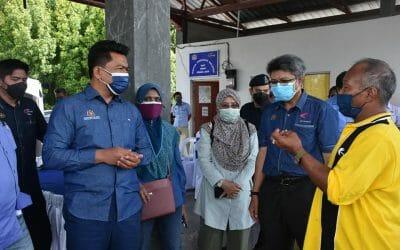 Working Visit of Deputy Secretary General (Development) Datuk Badrul Hisham Mohd, Ministry of Agriculture and Food Industry (MAFI) to Kebun Kerang, Lekir, Perak.